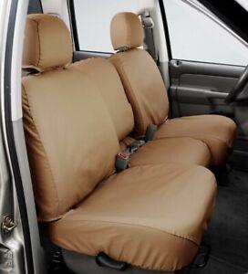 Front Row Seat Covers F250, F350 2001-06 SeatSaver SS3328PCTN, Polycotton Tan