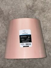New mainstays pink fabric lamp shade set of 2 still in wrapping