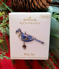 2012 Hallmark Ornament ~ Blue Jay ~ Beauty of Birds Miniature ~ NIB!