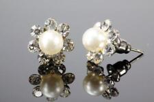 Perlen stecker Ohrringe mit Perlen zu Stecken