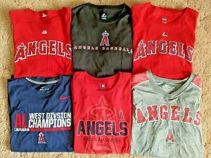 Lot of 6 Los Angeles Angels of Anaheim T- Shirts - 2XL - Cron, PUJOLS
