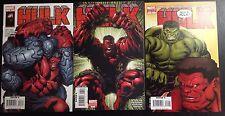 Hulk #3 Vol 2 2008 ALL VARIANT LOT 1st, 2nd McGuinness, Finch Loeb Red Hulk NM/M