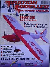 Aviation Modeller International - July 2000 Complete with Unused Plan SUNSHINE