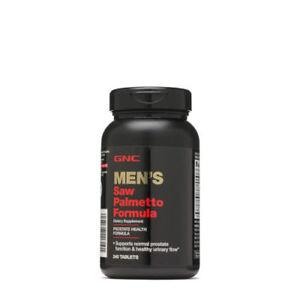 GNC Men's Saw Palmetto Formula 240 Tablets