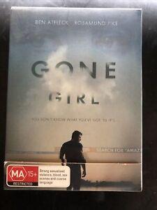 Gone Girl DVD Ben Affleck Rosamund Pike Region 4 Cardboard Slip Case
