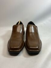 NEW Kenneth Cole REACTION Men's Punchual Slip on 8.5 Brown Comfort Shoes