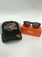 Dale Jr. Autographed DTG Hat & SPY Hunt Sunglasses