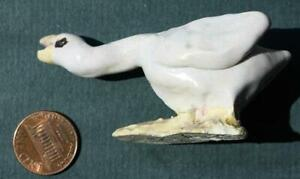 Cambridge City Indiana Overbeck Sisters Handmade Pottery Whooper Swan figure!