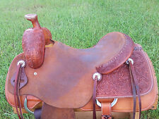 """16"""" Spur Saddlery Ranch Cutting Saddle - Made in Texas"""