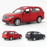 BMW X7 SUV 2019 1:44 Model Car Metal Diecast Gift Toy Vehicle Kids Pull Back