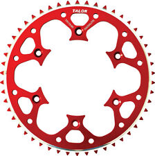 TALON GROOVELITE REAR SPROCKET 50T (RED) Fits: Honda CR500R,CRF450R,CRF250R,CRF2