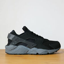 Nike Air Huarache Run 6us - 38.5eu Black Dark Grey Noir Gris Sneakers DS