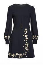 Ted Baker Pearl Floral Long Sleeve Dress,  NAVY Gr.6 (L) Neu