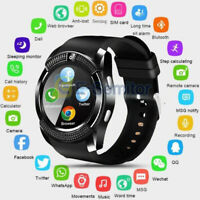 V8 Bluetooth Smart Watch GPS Waterproof SIM Camera Wrist Watches For Android/IOS