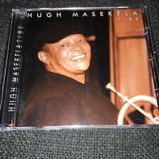 HUGH MASEKELA Time CD CASE IS NEW Weather Report Miles Davies Pat Metheny