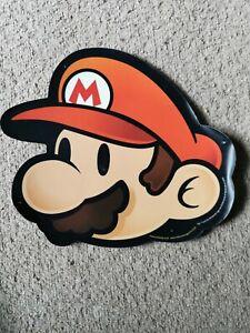 Mario Foam Sign Nintendo magazine 2004