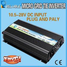 1000W Micro Grid Tie Solar Inverter 10.5~28VDC to 120V/230VAC Pure Sine Wave