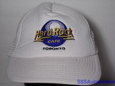 Vintage 1980s HARD ROCK CAFE TORONTO Music Restaurant Advertising Snapback Hat