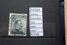 FRANCOBOLLI STAMPS ITALY EGEO USATI (F47964)