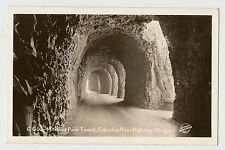 VINTAGE RPPC POSTCARD MITCHELLS POINT TUNNEL COLUMBIA RIVER HIGHWAY OREGON OR