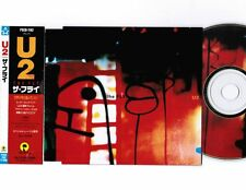 "U2 The Fly JAPAN 3-track 5""CD SINGLE PSCD-1182 w/OBI+PICTURE CD No Jewel"