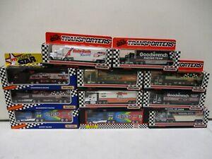 12 Matchbox Nascar Superstar Transporters 1/87 Earnahardt, Gordon, Petty