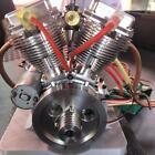 PRESALE CISON FG-VT9 9cc V-Twin Dual Cyl 4-Stroke Air-Cooled Gasoline RC Engine