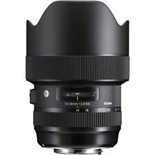 Sigma 14-24mm f/2.8 ART DG HSM lens for Canon EF ***USA AUTHORIZED***