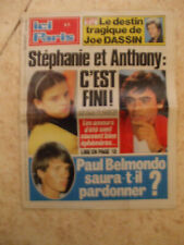 ici paris 30 08 1984 fini entre stephanie et antony destin tragique  joe dassin