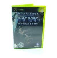 Peter Jackson's King Kong Microsoft Xbox  Game - Complete