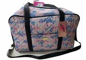 LUV Betsy Johnson Weekender Tote Duffel Bag