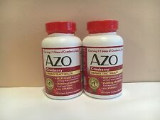 BRAND NEW!! 2 AZO CRANBERRY!!!