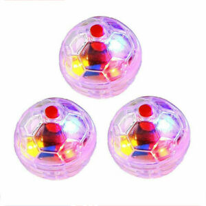 3PCS Ghost Hunting Motion Light Up Balls Flash Paranormal Equipment Pet Toy AU!