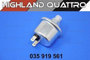 Audi ur quattro / coupe 80 / 90 oil pressure sender 035919561