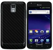 Skinomi Carbon Fiber Black Skin+Screen Protector for Samsung Galaxy S2 SkyRocket