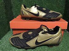 Nike Air Zoom Total 90 AZT SG Vapor Soccer Fußballschuhe Stollen 9 8 42,5 Gold