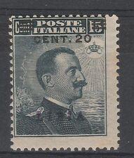 FRANCOBOLLI 1919 LIBIA MICHETTI SOPRASTAMPATO MNH RIF 3621