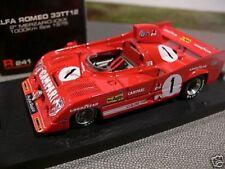 1/43 Brumm r241 Alfa Romeo 33TT12 SPA 1975 #1