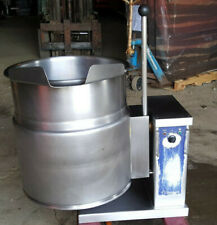2008 Cleveland Electric Countertop 12 gallon Jacketed Steam Soup Kettle Ket12T