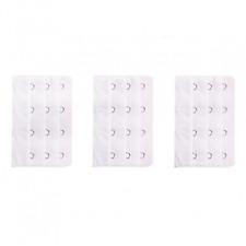 3 rallonges blanches extension soutien gorge 4 crochets , astuce lingerie