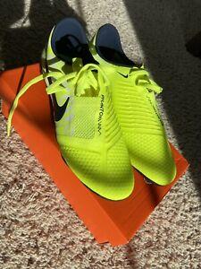 Nike Phantom Venom Elite FG Soccer Cleats (AO8738-717) Volt  MEN'S 6.5 / WMN'S 8