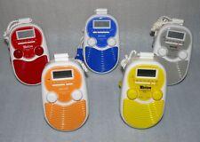 Tevion BDR200 Badradio Duschradio Wand LCD Radio Wecker Blau Gelb Grau Orange We
