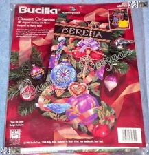 Bucilla ORNAMENTS OF CHRISTMAS Stocking Needlepoint Kit - Nancy Rossi - 60742