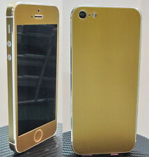 "iPhone 5 "" Glossy  "" Full Body Vinyl Decal Skin sticker  Choice Gold or Silver"