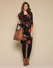 Monsoon Cowl Neck Floral Dresses for Women