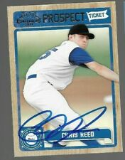 2011 Panini CHRIS REED Signed Card autograph DODGERS ONLY 3 MLB GAMES STANFORD