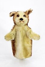 Antique Steiff Dog Hand Puppet ca1910