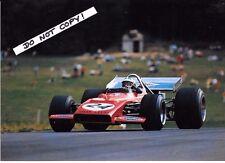 9x6 Photograph Silvio Moser  Bellasi-Cosworth  Austrian GP Osterreichring 1970