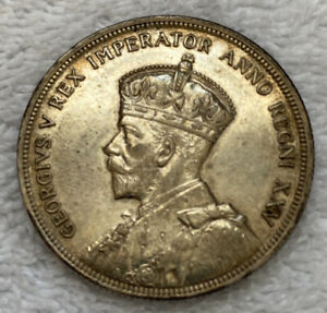 Canada Silver Dollar 1935 - 25th Anniversary Of The Reign Of King George V