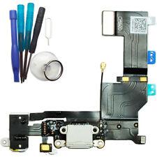 iPhone 5S USB Ladebuchse Dock Connector Audio Jack Flex Kabel schwarz + Werkzeug